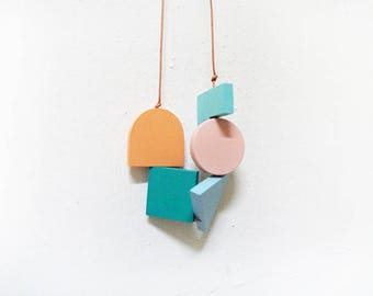 LOVED Necklace - Multi Colors M011