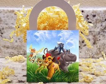 Lion Guard Treat Boxes, Lion Guard Popcorn Boxes, Lion Guard Candy Boxes, Lion Guard Party Boxes