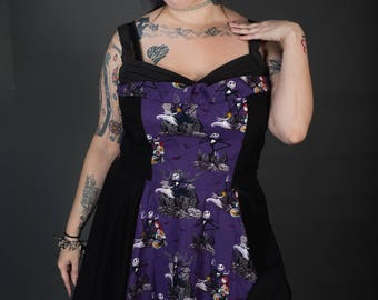 50's Rockabilly Floor length Dress