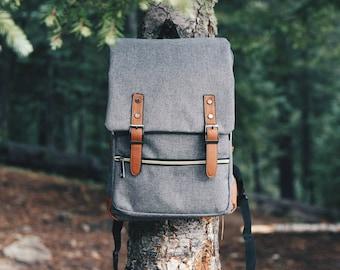 Backpack Travel Bag Vintage Bag Leather Backpack Minimalist Backpack