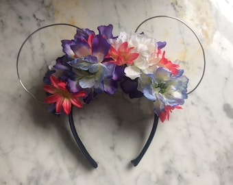 Pandora Inspired Floral Wire Ears