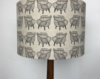 Lampshade: Chair Print