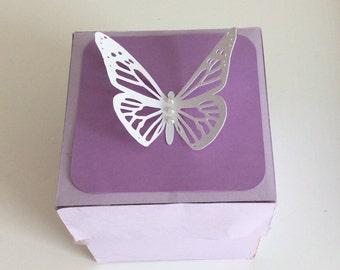 Lavender explosion box