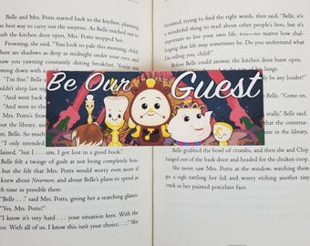 Be Our Guest - Bookish Bookmark