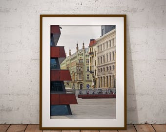 Metal Print - Wroclaw, Photography - Metalic Aluminum Print, Fine Art, Wall Art, Nature Print, Home Decor, Photography