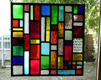 Stained glass Sun Catcher/Window panel