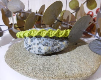 Adjustable Twisted Hemp Bracelet