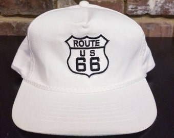 Vintage Route 66 Rope Snapback