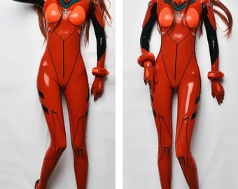 Asuka Langley cosplay dakimakura (pillow case)