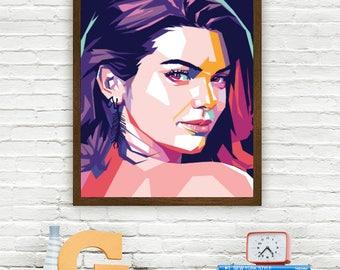 Kendall Jenner Limited Artwork
