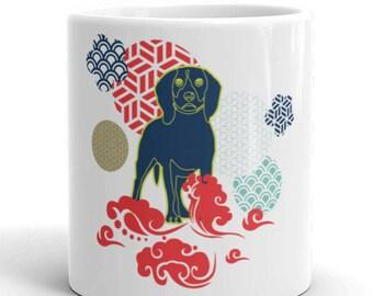 2018 Year of The Dog Happy Chinese New Year Mug