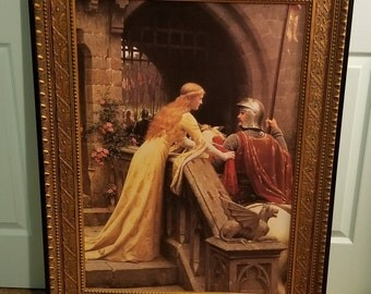 God Speed Giclee by Edmund {E.B.} Leighton Museum quality piece