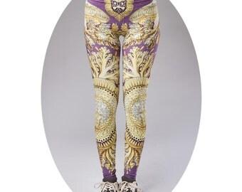Womens leggings, Women leggings, running leggings, Yoga Pants, Gym Leggings, Workout Leggings,Meditation Clothes, Geometric leggings
