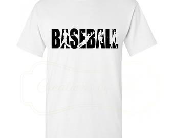 Baseball Men's Crew Neck T-Shirt