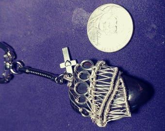 Stone Keychain