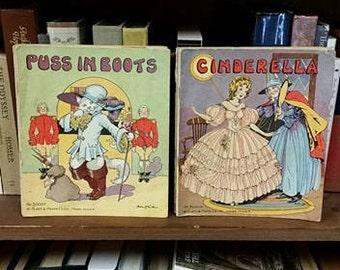 Vintage Children's Book Lot/ Platt & Munk Books/ Vintage 1930's Books/ Lot of Eight Books