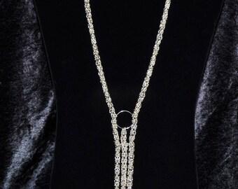 My Favorite Piece Sterling Silver Bysantine Elegance Necklace