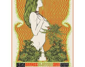 Stoner rock Gig Poster