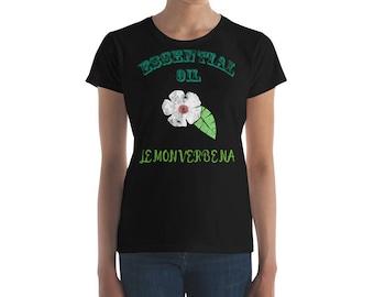 Essential Oil Lemon Verbena Women's short sleeve t-shirt