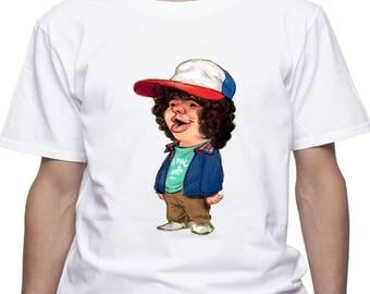 Stranger Things Dustin tshirt/ Dustin t-shirt/ Stranger Things shirt/ mens t-shirt/ men shirt/ Dustin tee/ Dustin cap/ Dustin funny/ (STH20)