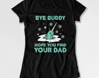 Funny Xmas Shirt Buddy The Elf Quotes Christmas Present Ideas Holiday Party T Shirt Xmas Gift Christmas Movie TShirt Mens Ladies Tee TEP-414