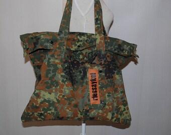 Army style Riessaykel shopping bag-big bag-shopping bag-shoulder bag