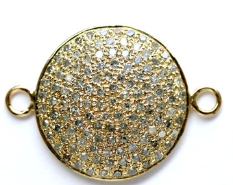 Yellow Gold Disc