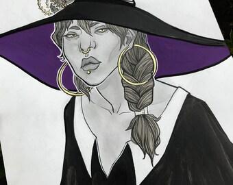 Inktober Witch (Original)