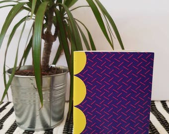 A6 Notebook / Pocket Notebook / Abstract dot n dash / Stationary