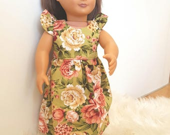 Doll dress 18 inch fit American girl, our generation, journey girl dolls