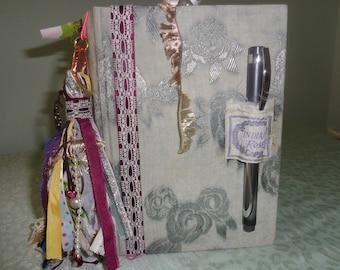 Silver & Lilac Junk Journal