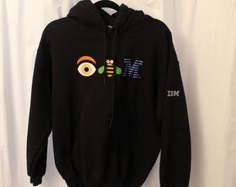 Vintage 90s IBM Hoodie - S