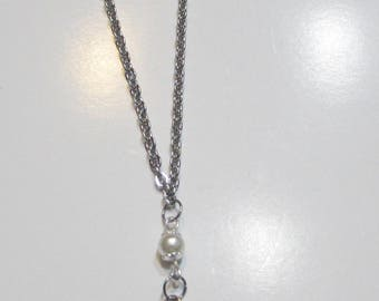 Necklace with Drop Pendant
