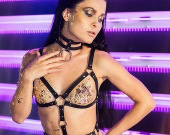 Fetish Harness body Set,Bdsm Harness body,BDSM leather harness,Fetish leather harness body,Body cage harness Bdsm,Body harness Bdsm Strappy