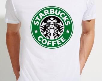 T-SHIRT STARBUCKS / tshirt hipster / tee trendy / tshirts fashion / tees coffee / tshirt symbol / gift / fans