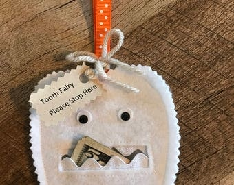 Tooth Fairy Pouch - Tooth Holder
