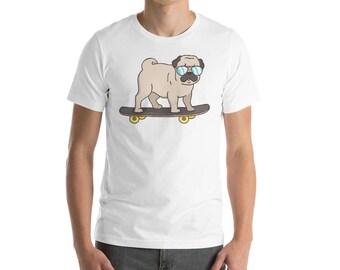 Pug Dog - Pug Lover - Pug Gift - Pug Gifts - Pug Pattern - Pug Art - Black Pug - Pug Toy - Pug Lover Gift - Pug Clothing - Pug Illustration