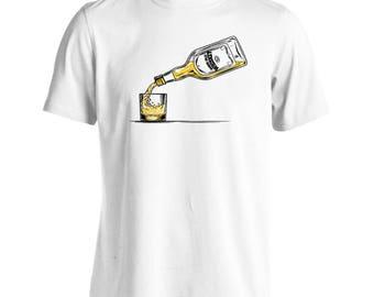 Good Old Whiskey Vintage Men's T-Shirt m610m