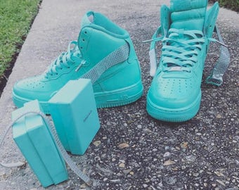 Customized Air Forces 1s
