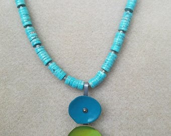 New Mexico Turquoise Necklace