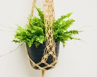 Macramé Plant Hanger jute