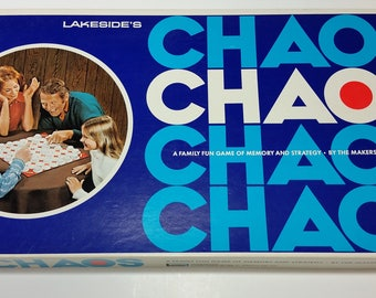 Chaos Vintage 1971 Board Game 100% Complete
