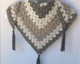 Ladies triangle scarf, Scarf