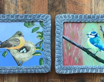 Oil Paintings, Animals, Birds, WallArt,Oil/Acryl, Mosaic,Nature,Oil,Acrylic,WallArt, Realism,Abstract, Birds,Wood,Artist:B.B.