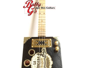 3 STRING Cigarbox Guitar
