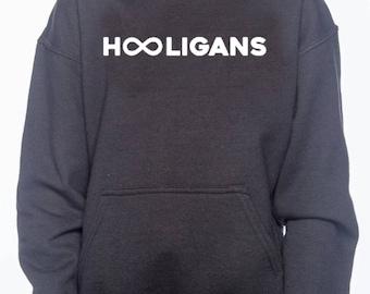 Infinite List Hooligans Adult hoodie.