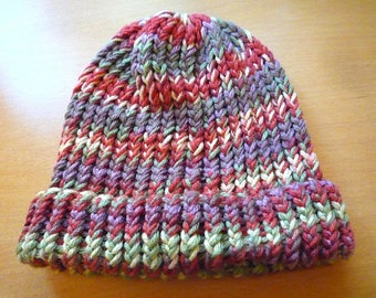 Autumn Loom Knit Beanie