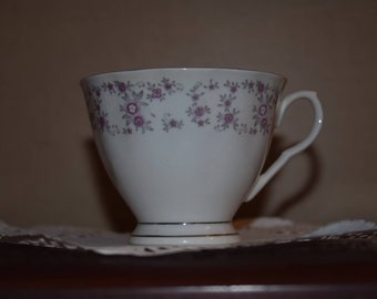 Floral footed cup made in china