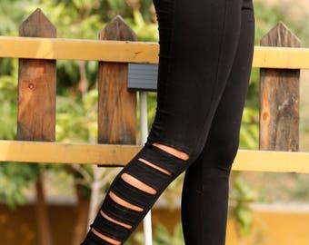 High Waist Leggings Cut Out