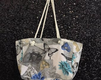 Butterfly Canvas Tote Bag